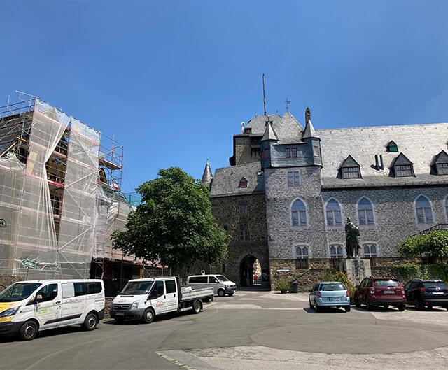 Sanierung Schloss Burg
