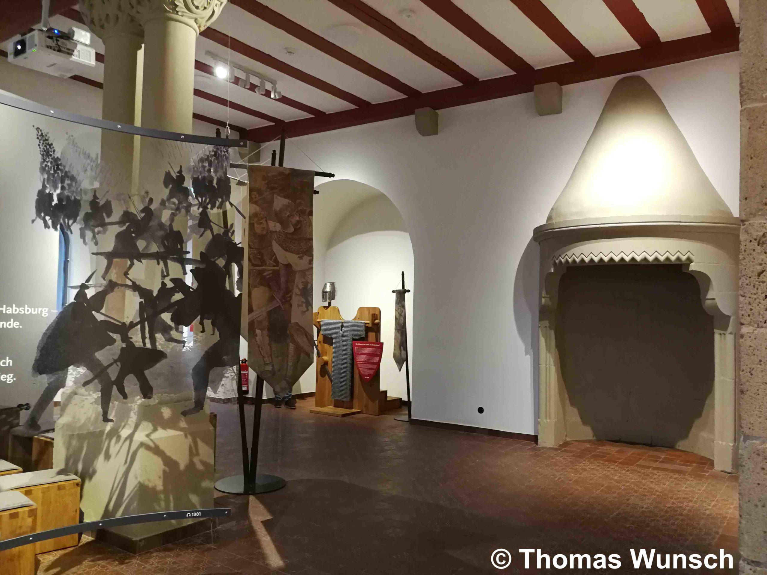 Sanierung Schloss Burg Ausstellung OG 3