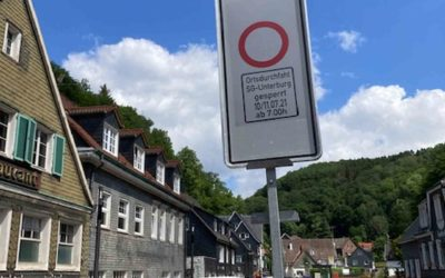 Unterburg: Zwei Tage keine Durchfahrt 10./11. Juli 2021